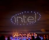 100 Drone ile gökyüzünde yapılan ışık gösterisi Guinness Rekorlar kitabına girdi