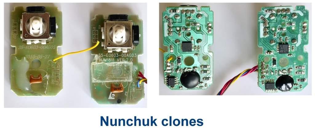 Nunchuk clones